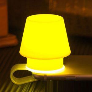 Mini Soft Silicone Phone Lamp