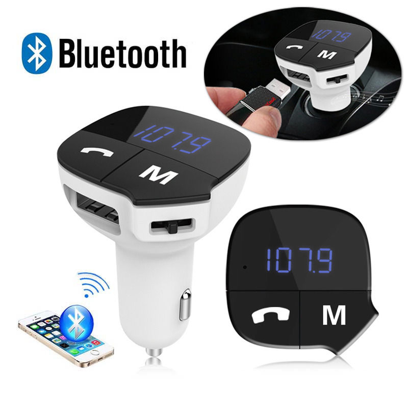 Wireless car MP3 player with lots of features