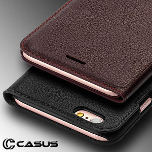 Genuine leather phone case for iPhone 7 & 6/6s Plus