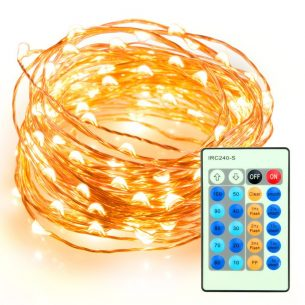 TaoTronics Dimmable LED String Lights