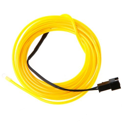 Flexible neon light tubes: durable el wire tube with controller
